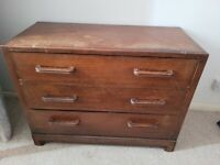 Solid Wood Chest of Draws - Upcycling Project