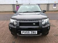 2006 NEW SHAPE 4X4 LAND ROVER-FULL SERVICE HISTORY-LOW MILEAGE-SPOT ON BLACK EXAMPLE-BARGAIN