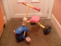Toddlers Bob the builder trike