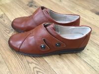 New Damart shoes, elderly lady sent for them , they were too tight for her swollen feet