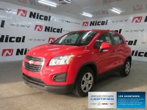 2016 CHEVROLET TRAX FWD LS CROSSOVER