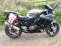 Hyosung GT125R for sale.