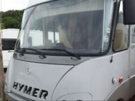 HYMER OR SIMILAR MOTORHOME WANTED