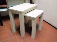 2 Nest of Tables, Coffee / Lamp Table Pair