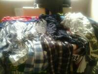 Over 30 mens dress shirt's and tees good makes and condition