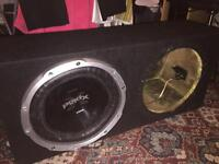 Subwoofer Sony explode subwoofer with double box