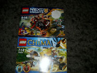 Lego one brand new still sealed other used but complete