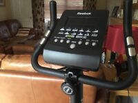Reebok ZR8 electronic exercise bike in excellent condition