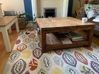 Raft Teak coffee table
