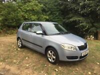 2010 (10) Skoda Fabia 2 HTP 5Dr 1.2 Petrol Manual Blue FSH New MOT Stunning Car