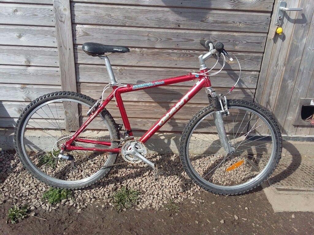 Giant 21 speed mountain bike, aluminium frame
