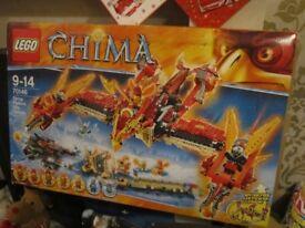 LEGO CHIMA PHOENIX FIRE TEMPLE