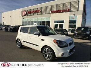 2013 Kia Soul 4U Luxury NAV/Leather *CPO*