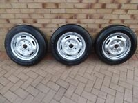 Transit wheels and tyres excellent condition.