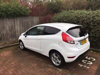 2013 Ford Fiesta Zetec 1.0 Turbo Ecoboost Frozen White - 38k, City Pack, MOT, £0 tax