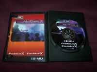 EMU , E-MU Mo' Phatt X ESC Sound Library DVD / Brand NEW !