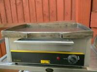 Commercial Buffalo Electric cast iron Griddle, Hot Plate, contact grill, Burger BBQ