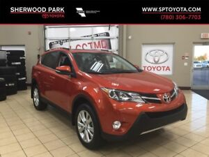 2015 Toyota RAV4 Limited-Low mileage-One Owner!