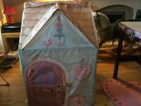 Rose petal cottage playhouse and cooker playset