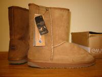 EMU Sheepskin Boots NEW size 8