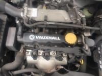 VAUXHALL ASTRA, 1.6 8v, 2005 ENGINE AND GEARBOX, FOR SALE