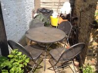 Garden Outdoor Metal Mesh Table