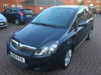 Vauxhall Zafira Cdti 1.7 Diesel 1 Owner HPI Clear Genuine Mileage Excellent Condition