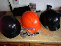Hard hats for construction work £1 each