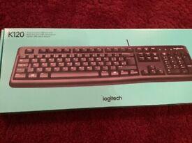 Logitech pc keyboard, new!