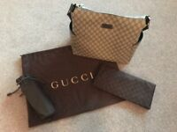 a1c6a48f5e79 Gorgeous Gucci baby changing bag, changing mat and bottle bag for sale