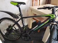 GreenEdge CS2 Electric Mountain Bike 19inch Unisex Bicycle 2017 - Near NEW condition. E-bike :)