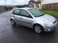 2004 FORD FIESTA,LONG MOT,£695