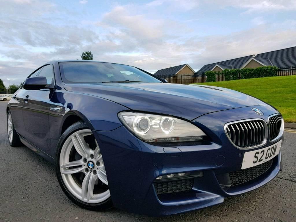 June 2012 BMW 640d M Sport Gran Coupe Twin Turbo 313bhp! Stop/Start ...