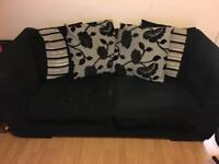Two 2 seater sofas for sale the one pictured is a sofa bed