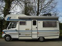 1993 MERCEDES COMMODORE 404 COMPASS 4 BERTH CAMPER VAN MOTOR HOME LOW MILEAGE IN GOOD RUNNING ORDER