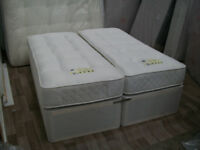 kingsize windsor zip & link divan bed