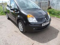 2005 RENAULT MODUS 1.4 PETROL 5 SPEED MANUAL WITH 12 MONTHS MOT