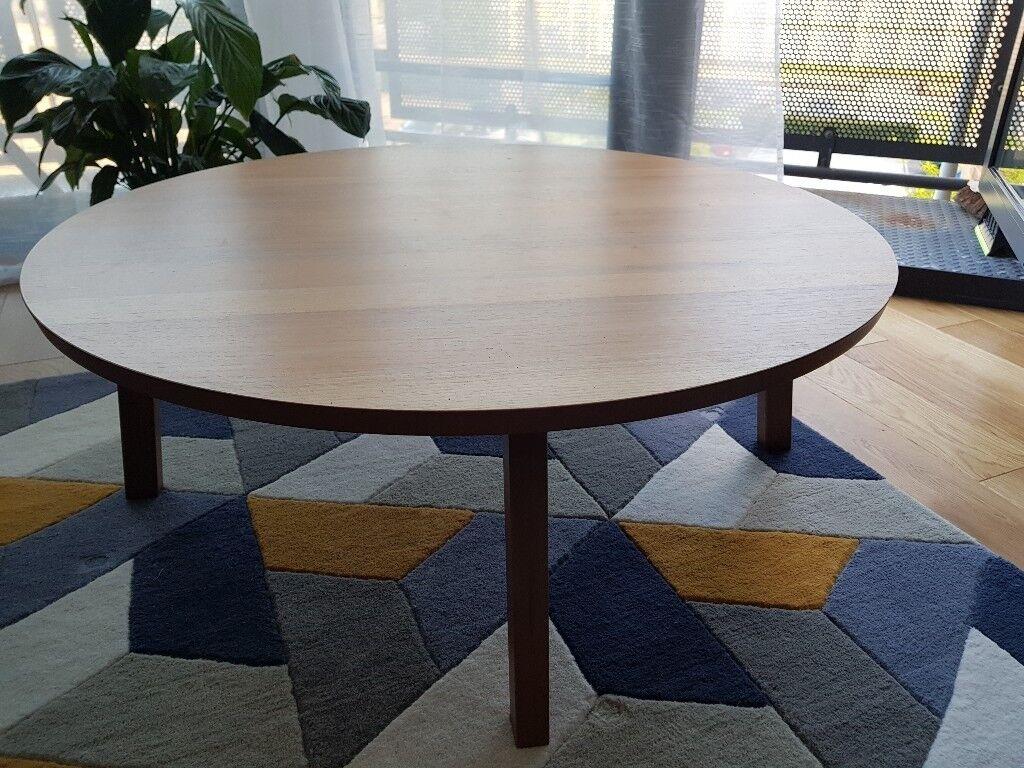 Ikea Stockholm Round Coffee Table Walnut Veneer In Farnborough Hampshire Gumtree