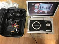 Wharfedale 10' portable DVD player & extras!