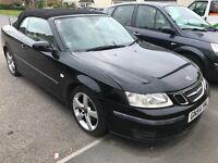 Saab convertible 2ltr petrol auto