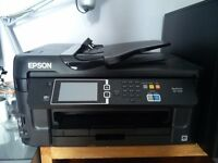 A3 Printer Scanner Epson workforce WF-7610. Wireless. Fax and paper feed function.