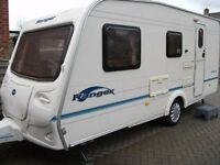 *SMALLER LIGHTWEIGHT 4 BERTH BAILEY RANGER 470/4 CARAVAN, GREAT BUY!