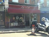 A1 CLASS CAFE FOR SALE DUE TO PERSONAL REASON £19,500 +SAV (PRICE REDUCED FROM £22,000)