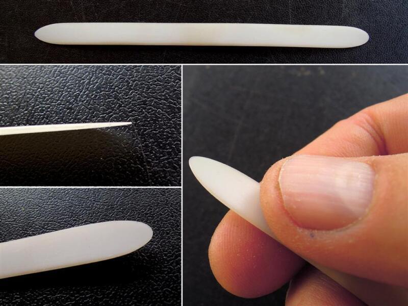 2 X Professional handmade nylon Oud pick risha plectrum reeshe mezrab
