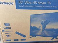 "50"" ULTRA HD SMART LED TV BRAND NEW"