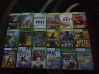 18 xbox 360 games in working order joblot RRP£130