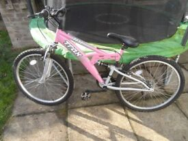 "Girls 16"" mountain bike"