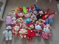 Children Baby Dolls, full box of over 20 dolls, peppa pig, snowman, hellokitty