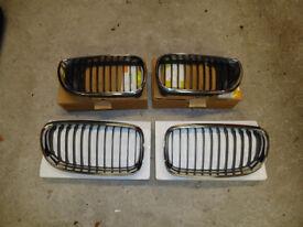 BMW E90,91 E46 FACELIFT KIDNEY GRILLES