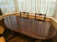 Immaculate antique dining table